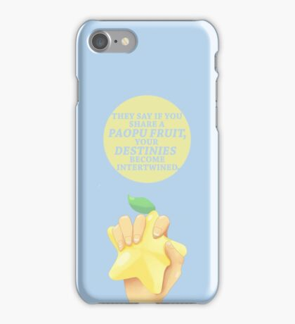 Kingdom Hearts Paopu Fruit Legend Of iPhone Case/Skin