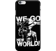 One Piece Monkey D. Luffy We Go To The New World Mugiwara Strawhats Pirates Anime Cosplay T Shirt iPhone Case/Skin