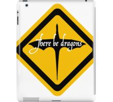 There be dragons 1 iPad Case/Skin