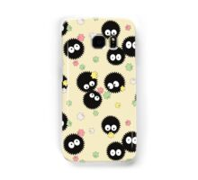 Ghibli Inspired Soot Sprites with Candy Pattern Samsung Galaxy Case/Skin
