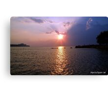 Lake Erie in all of her Glory Canvas Print