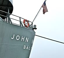 USS John W. Brown - Liberty Ship - Stern by Jack McCabe