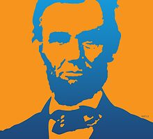Abraham Lincoln Pop Art by morningdance