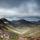 Approaching Great Gable  by Ian Parry