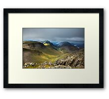 Approaching Great Gable II Framed Print