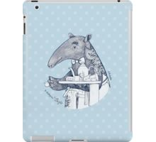 Tea time starts now - Malayan Tapir iPad Case/Skin