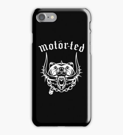 Motor Ted iPhone Case/Skin
