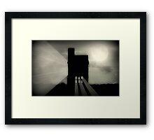 Moon Beams ©  Framed Print