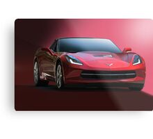 2014 Corvette Stingray Metal Print