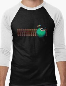 Coconut Cocktail Beach Men's Baseball ¾ T-Shirt