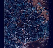 Massachusetts  USGS Historical Topo Map MA Salem 352991 1893 62500 Inverted by wetdryvac