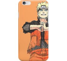 NARUTO - LET'S FIGHT iPhone Case/Skin