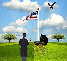The Birth Of A Nation... by Karen  Helgesen