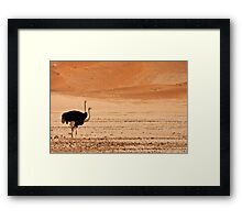Two headed dune Framed Print