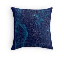 Massachusetts  USGS Historical Topo Map MA Sheffield 353017 1888 62500 Inverted Throw Pillow