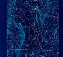 Massachusetts  USGS Historical Topo Map MA Sheffield 353017 1888 62500 Inverted by wetdryvac