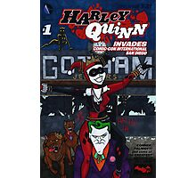 Harley Quinn #1 Variation Cover Photographic Print