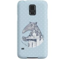 Tea time starts now - Malayan Tapir Samsung Galaxy Case/Skin