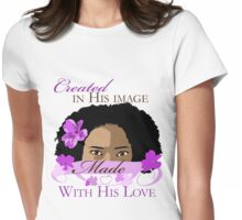 Created in His Image Womens Fitted T-Shirt