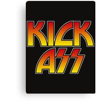 KICK ASS - Parody Canvas Print
