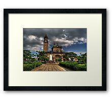 Manila Cathedral Framed Print