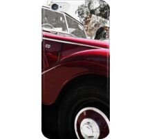 50's MG Convertible iPhone Case/Skin