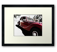 50's MG Convertible Framed Print