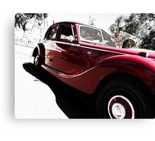 50's MG Convertible Canvas Print