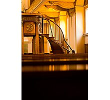 Golden Stairs Photographic Print