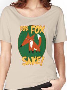 Fox Sake Women's Relaxed Fit T-Shirt
