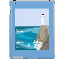 The seashore with the lighthouse iPad Case/Skin