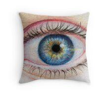 Eye of Nikki Throw Pillow