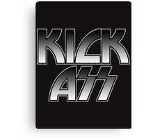 KICK ASS - Parody (Grey) Canvas Print