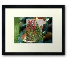 orchids 4 Framed Print