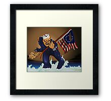 Sailor Eddie Framed Print