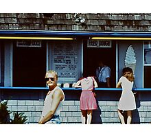 Beach Stand Photographic Print