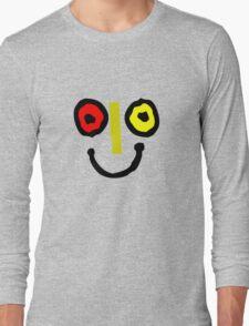 Bahamas goombay punch face geek funny nerd Long Sleeve T-Shirt
