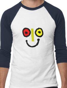 Bahamas goombay punch face geek funny nerd Men's Baseball ¾ T-Shirt