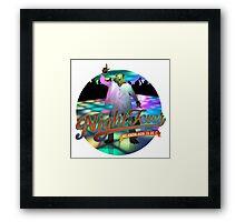 Night Beaver Framed Print