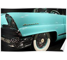 Blue Lincoln Continental 2 Poster