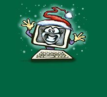 Christmas Computer Unisex T-Shirt