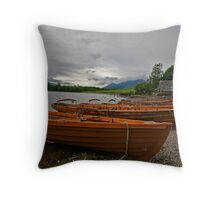 Keswick Lakes  Throw Pillow