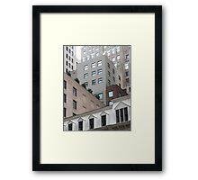 building blocks Framed Print