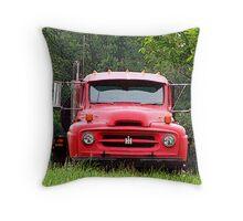 International Harvester Truck Throw Pillow