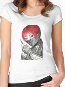 Ninja Artist  Women's Fitted Scoop T-Shirt
