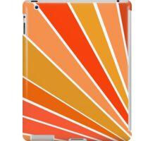 Orange Rays iPad Case/Skin