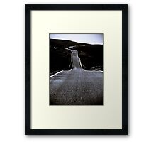 Ribbon of Moonlight Framed Print