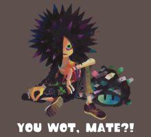 Splatoon! Spyke  - YOU WOT, MATE?! by kuuushi