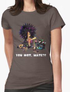 Splatoon! Spyke  - YOU WOT, MATE?! Womens Fitted T-Shirt