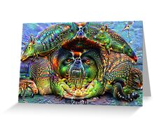 Tortugas V Ambassador Sam Greeting Card